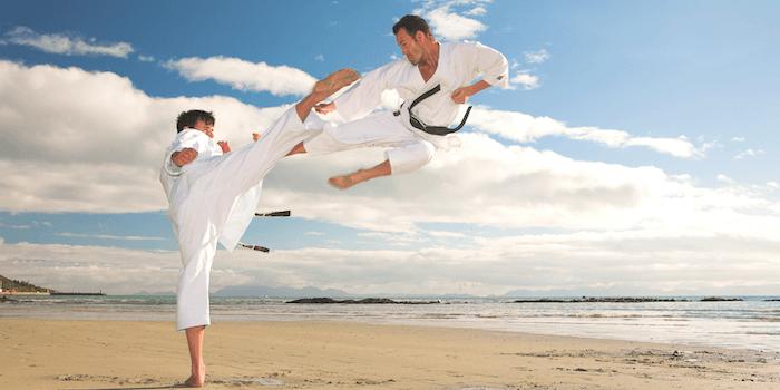 Abnehmen mit Kampfsport Karate
